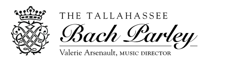 Picture of The Tallahassee Bach Parley logo including Bach's monogram